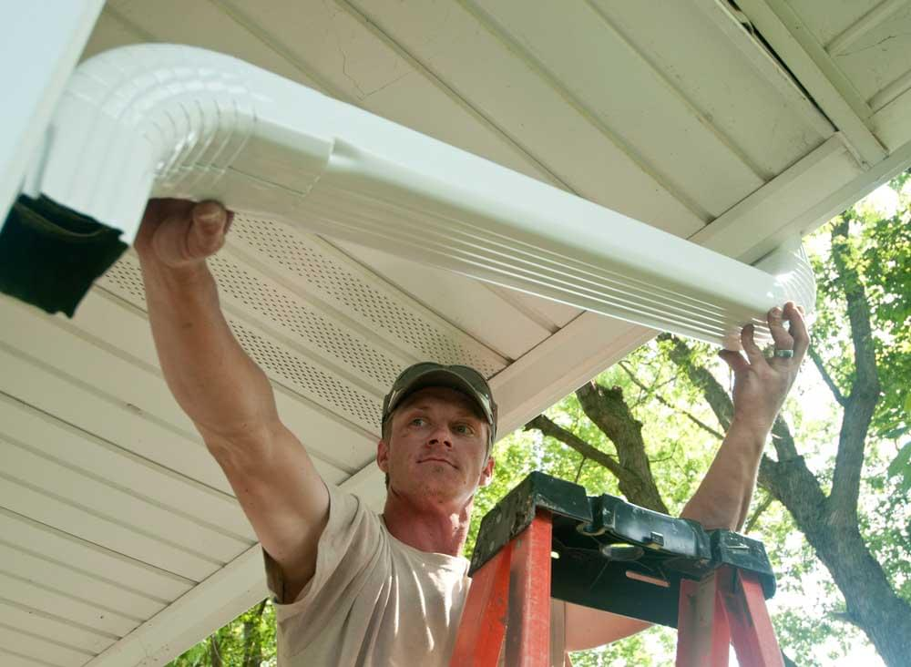 Seamless Gutters Peters Heating And Air Conditioning