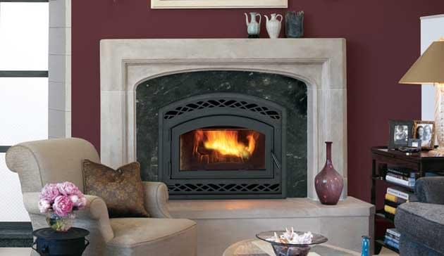 Astria Fireplaces Montecito wood burning