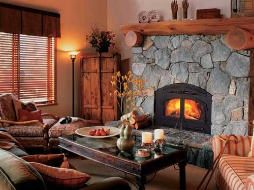 Heat-n-Glo Northstar wood burning fireplace