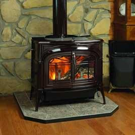 Magnificent Fireplaces Gas Logs Peters Heating And Air Conditioning Home Interior And Landscaping Eliaenasavecom